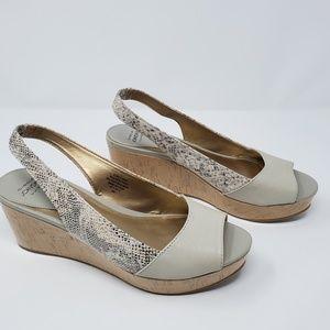 Circa Joan & David platform sandals Sz 8